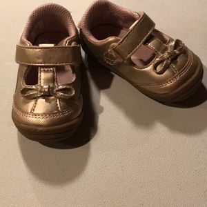 Rose Gold Volvo Stride Rite shoes
